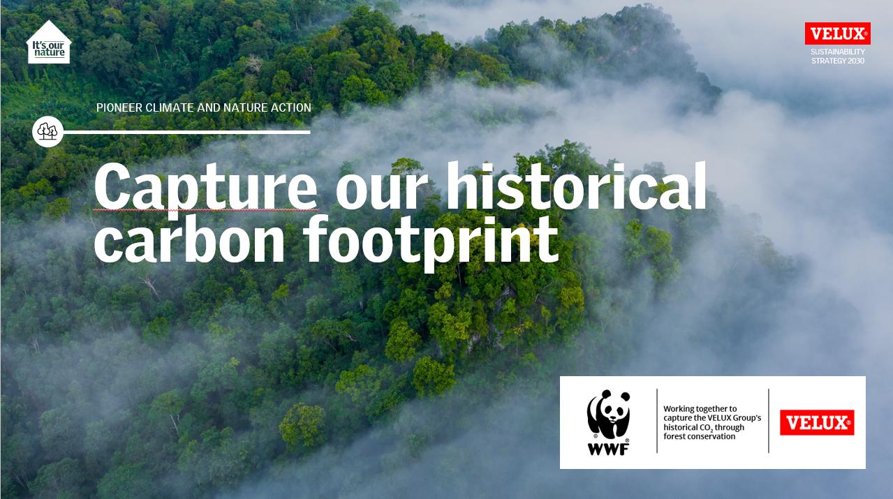 улови свои исторически въглероден отпечатък
