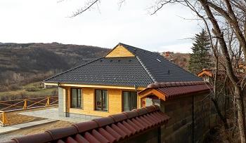 Как се прави покрив Брамак?