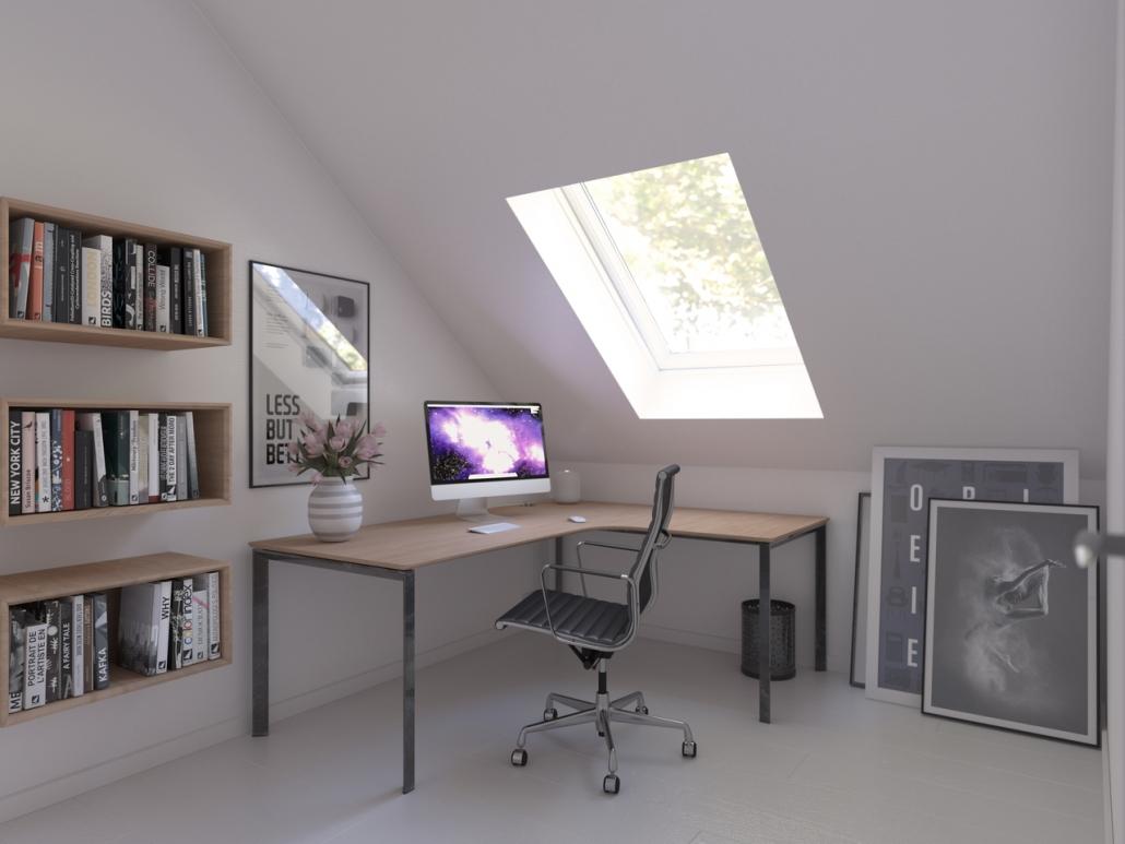 училище и офис под един покрив - Моята Мансарда