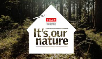 VELUX Group се ангажира да улови своя исторически въглероден отпечатък и да стане Lifetime Carbon Neutral