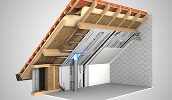7 причини защо скатният покрив трябва да бъде топлоизолиран с минерална вата