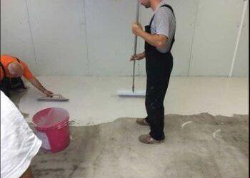 Саморазливни подове на Кнауф
