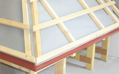 Инструкции за поставяне на покривно фолио
