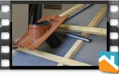 Как да положим покривно фолио около комин и вентилационен отвор