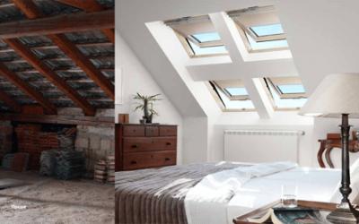 Как да вдъхнете живот на вашия таван и да го превърнете в най-светлата част от вашата къща?