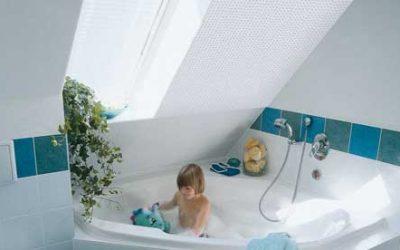 Красиво завършване на подпокривното пространство с гипсови плоскости Knauf Cleaneo® Akustik