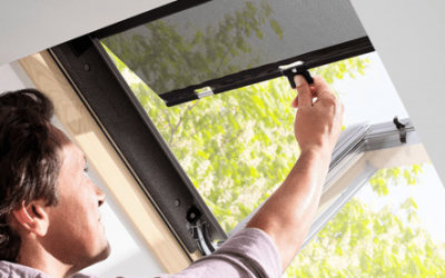 Щори и сенници VELUX за покривни прозорци
