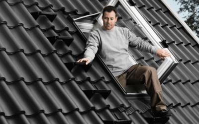 Какво е необходимо на всеко подпокривно пространство… изход за покрива!