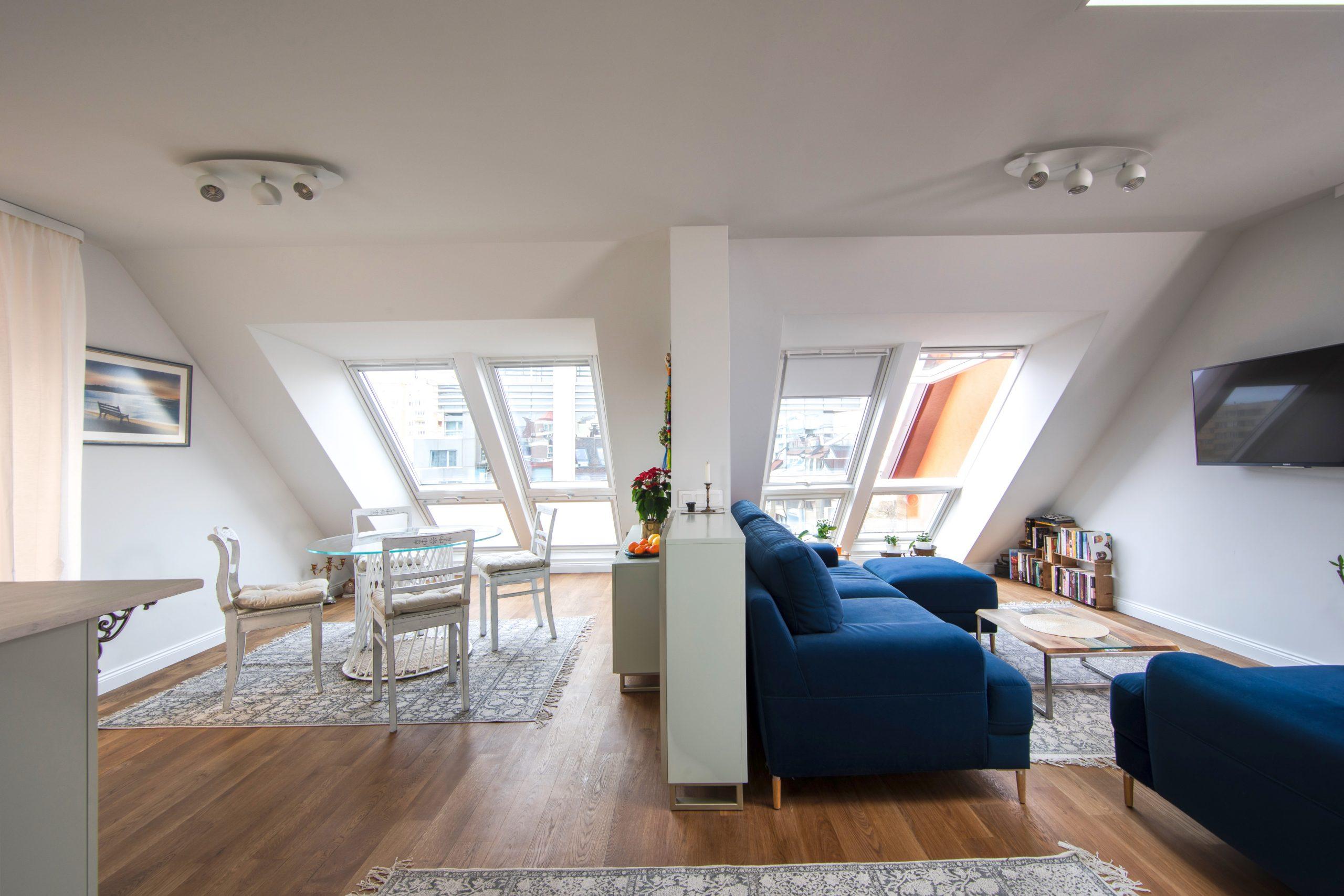 мансардният апартамент от мечтите, мансарден апартамент, мечтан апартамент